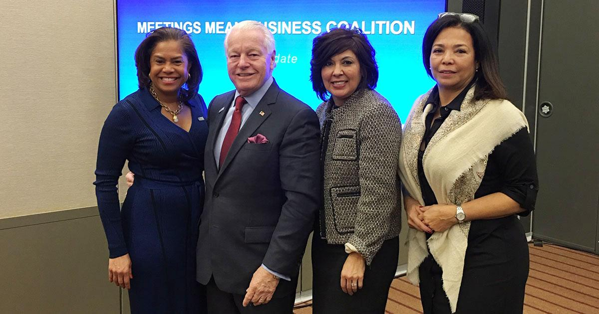 New Meetings Mean Business Coalition Initiatives Focus on Face-to Face Meetings, Travel