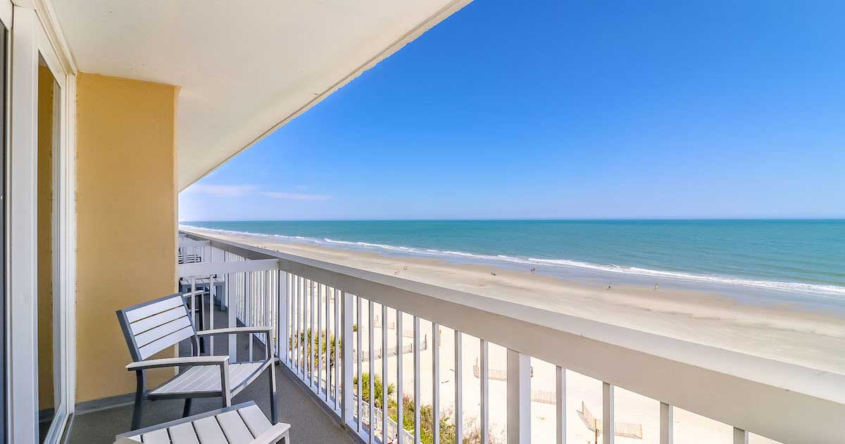 Holiday-Inn-Oceanfront-at-Surfside-Beach----Balcony-View