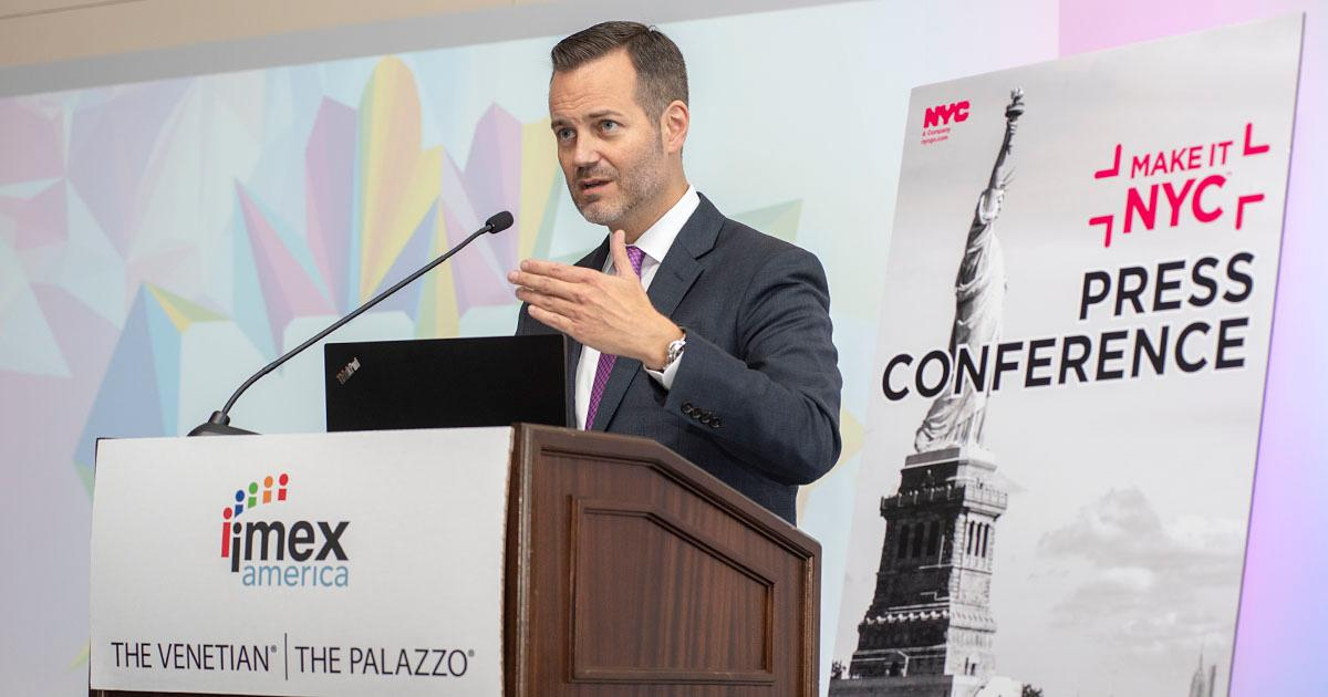 New York Unveils Ambitious Plans for Hosting Meetings and Events During IMEX America