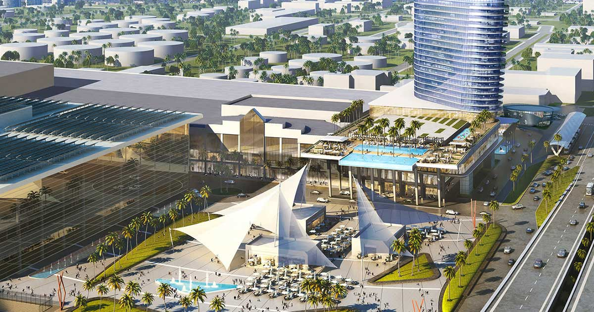 Broward County Convention Center Reimagined